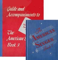 American Singer, Book 3, text with Guide & Accompaniments