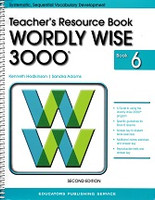 Wordly Wise 3000, 2d ed., Book 6, Teacher Resource Book