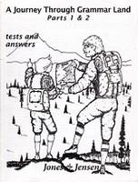 Journey Through Grammar Land, Parts 1, 2, 3 & 4; Tests & Key
