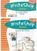 WriteShop Junior Activity Pack & Teacher Guide E-Book Set