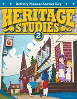 Heritage Studies 2, 3d ed., Activity Manual Answer Key
