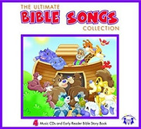 Ultimate Bible Songs Collection, 4 Music CDs & Early Reader