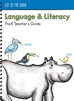 Get Set for School Language & Literacy PreK Teacher Guide