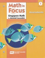 Singapore Math: Math in Focus 1, Assessments