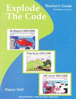 Explode the Code A, B, and C, Teacher Guide