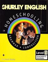 Shurley English 1 Homeschooling, Teacher Manual & CD Set