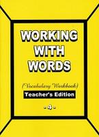 Working with Words 4 Vocabulary Workbook Teacher Edition