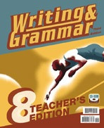 Writing & Grammar 8, 3d ed., Teacher Edition & CDRom Set