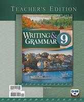 Writing & Grammar 9, 3d ed., Teacher Edition & CDRom Set