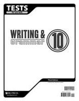 Writing & Grammar 10, 3d ed., Tests & Test Key Set