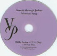 Veritas Bible 2 Genesis through Joshua Memory Song CD