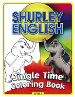 Shurley English 1 Jingle Time Coloring Book