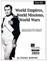 World Empires, World Missions, World Wars, Test Kit