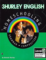 Shurley English 3 Homeschooling, Teacher Manual & CD Set