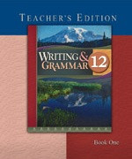 Writing & Grammar 12, 2d ed., 2 Volume Teacher Edition Set