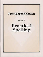 Practical Spelling, Grade 4, revised ed., Teacher Edition