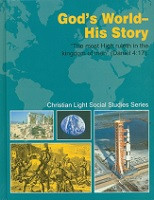 History 7: God's World--His Story, student