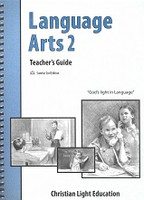 Language Arts 2, Teacher Guidebook, Sunrise 2d ed.