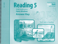 Reading 5 Open Windows LightUnits Sunrise 2d ed. Key