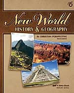 New World History & Geography 6, 4th ed., text