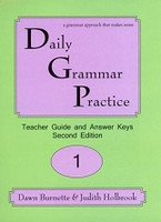 Daily Grammar Practice 1, 2d ed. Teacher Guide & Answer Keys