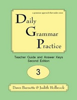 Daily Grammar Practice 3, 2d ed. Teacher Guide & Answer Keys