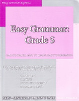 Easy Grammar: Grade 5, Teacher Edition, 2d ed.