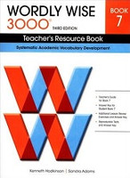 Wordly Wise 3000, Book 7 Teacher Resource Book; 3d ed.