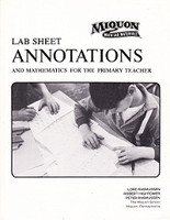 Miquon Lab Sheet Annotations & Notes to Teachers Set