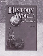 History of the World 7, 4th ed., Tests & Test Key Set