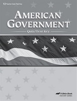 American Government 12, 3d ed., Quiz-Test Key