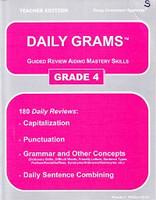 Daily Grams, Grade 4, Teacher Edition