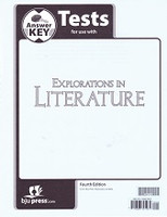 Explorations in Literature 7, 4th ed., Test Key