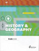 History & Geography 4 Lifepac Units 3-5 Set