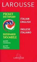 Larousse Italian English-Inglese Italiano Pocket Dictionary