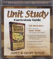 Daniel Boone Unit Study Curriculum Guide CD