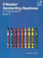 D'Nealian Handwriting Readiness for Preschoolers, Book 2