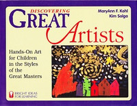 Discovering Great Artists: Hands-On Art for Children