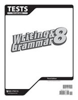 Writing & Grammar 8, 3d ed., Tests