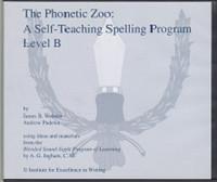 IEW The Phonetic Zoo, Self-Teaching Spelling, Level B Set