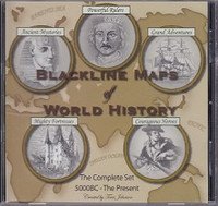 Blackline Maps of World History, the Complete Set, CDRom