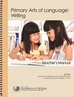 Primary Arts of Language: Writing, Teacher Manual