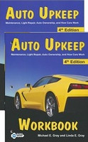 Auto Upkeep, 4th ed., text & workbook set