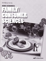 Family Consumer Sciences Home Economics 11-12 Quiz-Test Key
