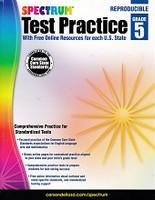 Spectrum Test Practice 5, Common Core State Standards