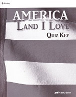 America, Land I Love 8, Quiz Key