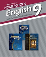 English 9, Parent Guide, Student Daily Lessons