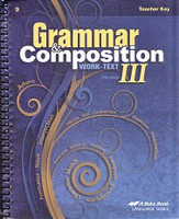 Grammar & Composition III (9), worktext Teacher Key