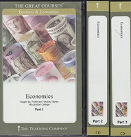Great Courses Economics, 3 Volume Set