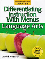 Differentiating Instruction with Menus, Grades 6-8
